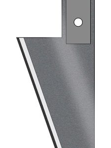 """Delta Plowing Blade - 8"""" AVG. Plow Depth - 1/2"""" Thick - D-8C"""