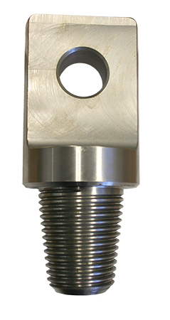 "Pulling Eye for Triple D DB1500, DB1800 - 5 Ton, 2.75"" Reamer Shaft, 2"" IF (Box x Box) - 220360100"